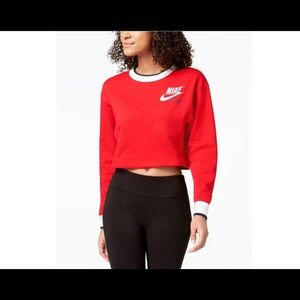 Nike Reversible Cropped Sweatshirt